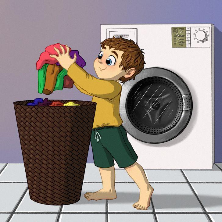 На која возраст треба децата да започнат да помагаат во домашните обврски?