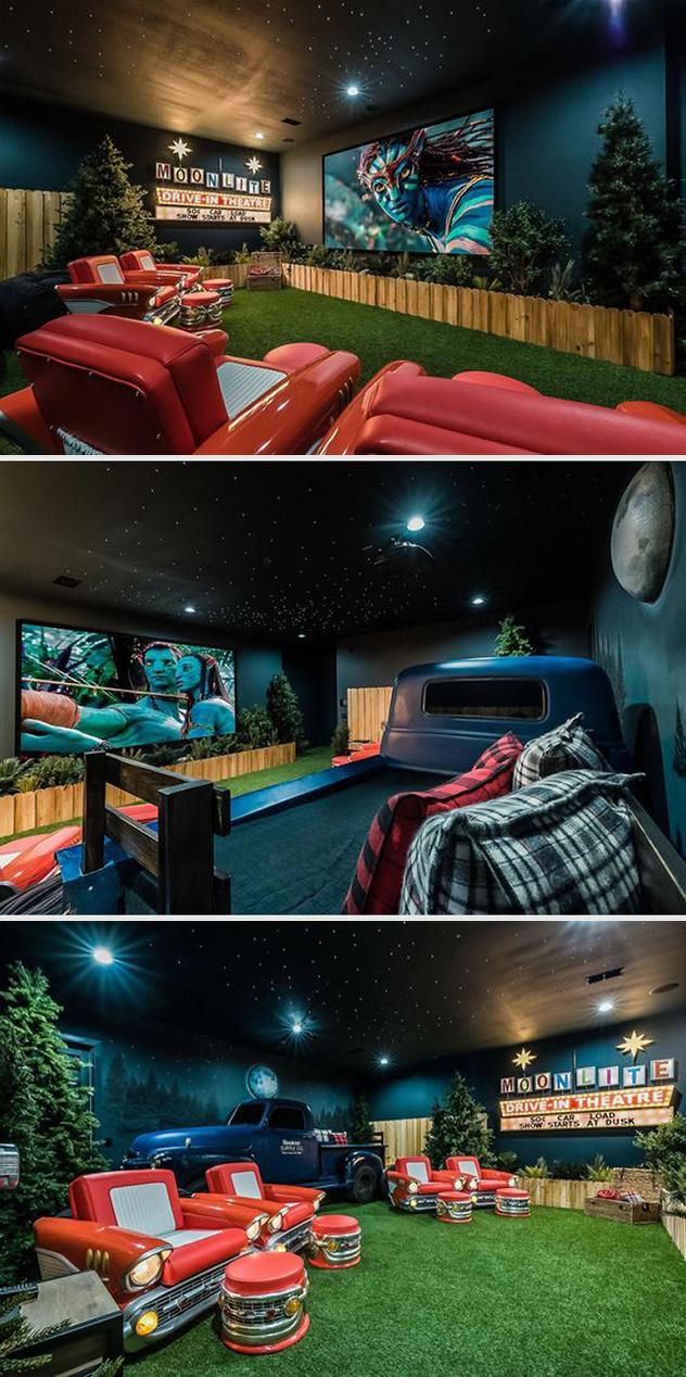 Неверојатни киносали што луѓето ги имаат направено во своите домови