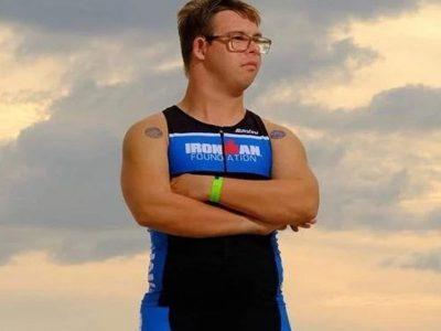 Првиот човек со Даунов синдром кој ја заврши трката во триатлонот Ајронмен