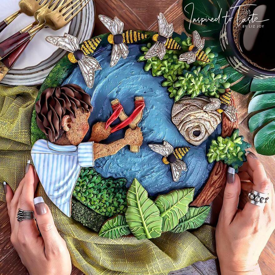 Уметност на храна: Слаткарка раскажува приказни низ питите кои ги пече