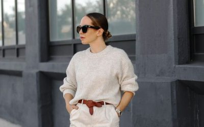 Плетени парчиња облека: 7 комбинации за 7 дена