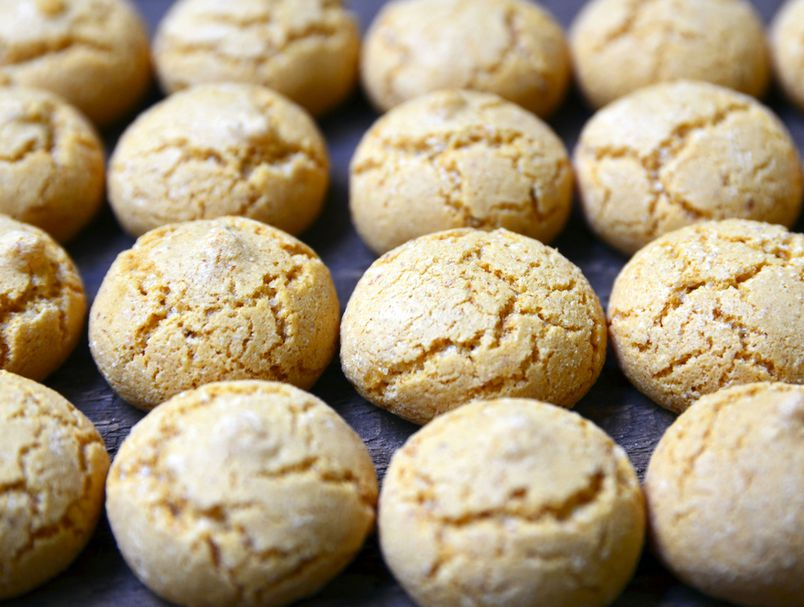 Едноставни сочни колачиња со вкус на бадем