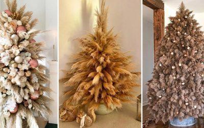 Новогодишна елка од пампас: Нов празничен тренд што изгледа толку добро!
