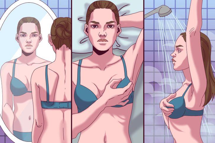 Како самостојно да го прегледате градите и 7 знаци што предупредуваат дека треба да одите на доктор