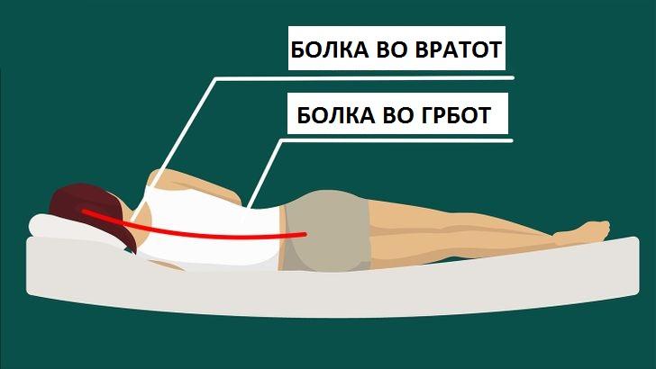 Што може да се случи со вашето тело ако почнете да спиете без перница?