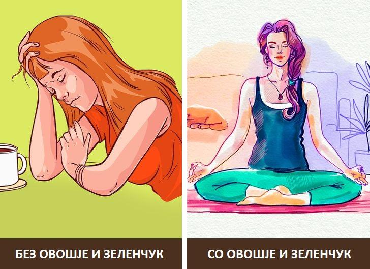 Што ќе се случи со вашето тело ако престанете да јадете овошје и зеленчук?