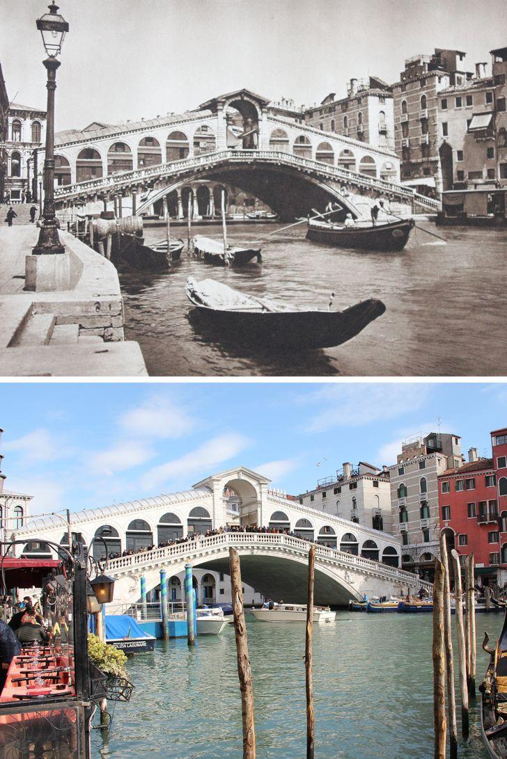 Фотограф патувал низ Европа за да покаже како се менуваат местата во 100 години