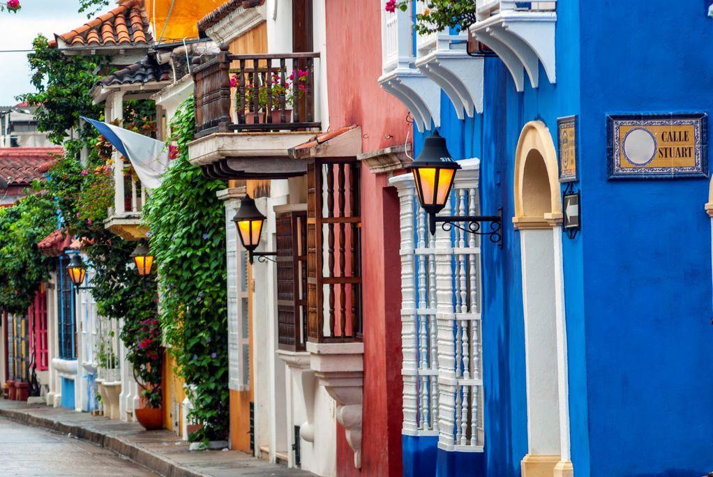 Шарен и цветен град во Колумбија кој е создаден за најубавите фотографии