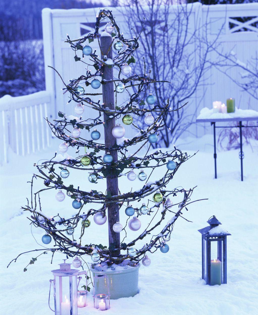 Елки што ќе го направат дворот да изгледа како од божиќен филм