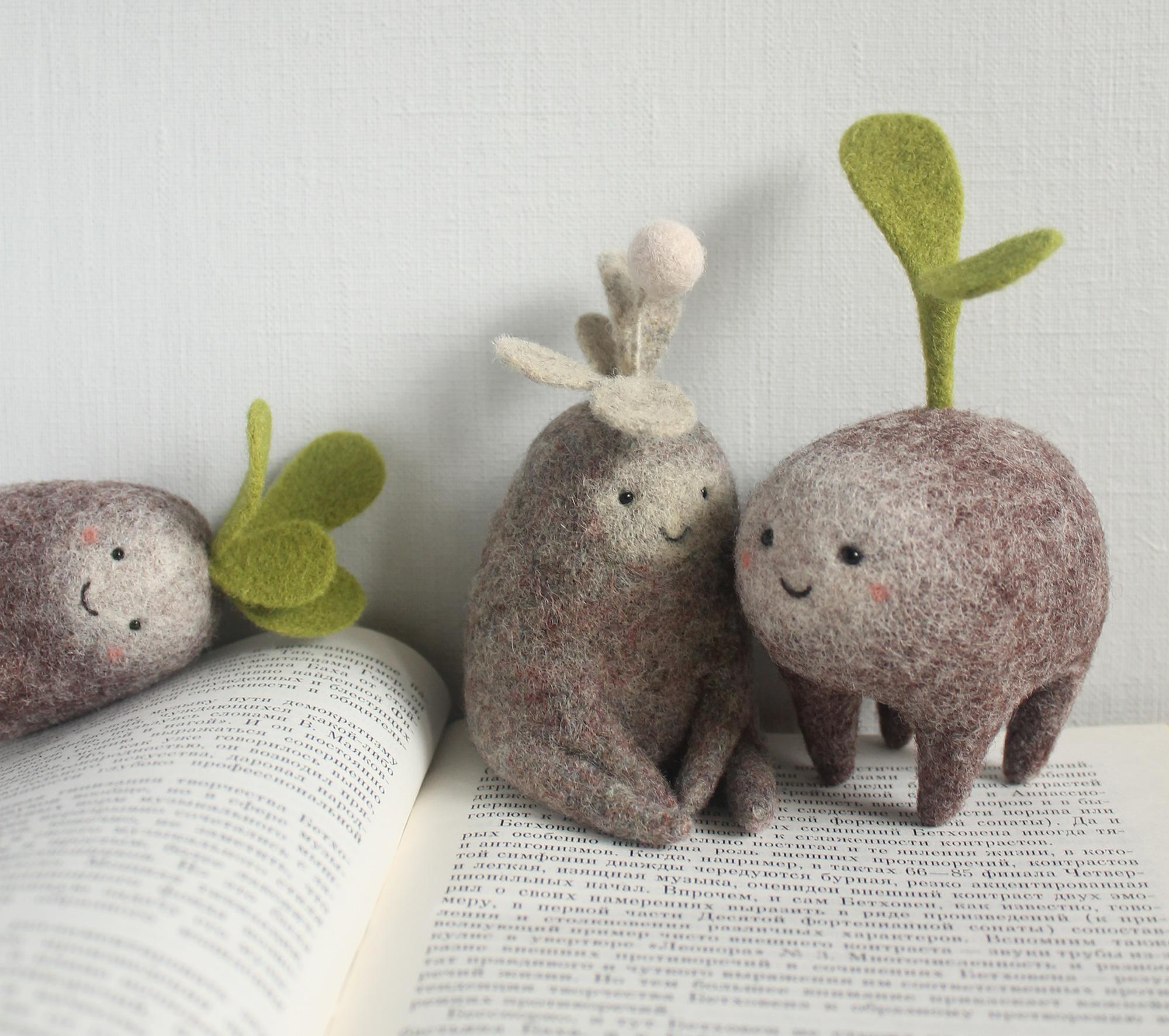 Симпатични фигури направени од волна