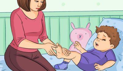 7 точки на притисок што ќе помогнат да се смири бебето и да се отстрани непријатноста