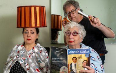 Фотограф на хумористичен начин го прикажува животот во карантин со неговата мајка и поранешна сопруга