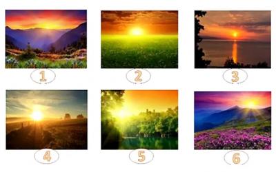 Изберете го најубавото изгрејсонце и откријте ја пораката за вас