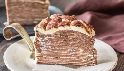 Рецепт за тирамису торта од палачинки