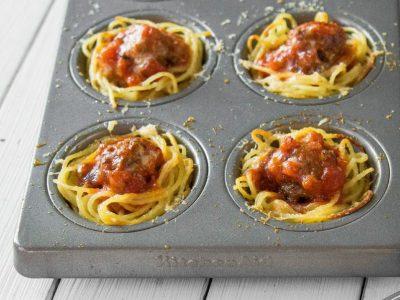 Ако не знаете што да правите со остатокот од шпагетите, можете да подготвите мафини!