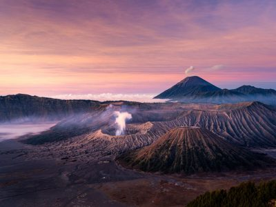 Овој вулкан е една од најпопуларните планинарски дестинации во Индонезија