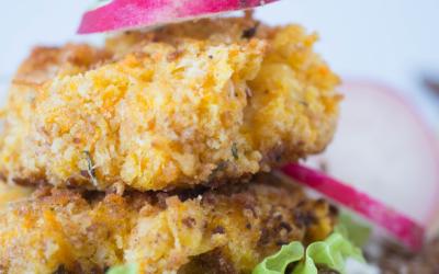 Рецепт за бургери со моркови и грав