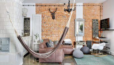 Феноменален стан на поткровје што ќе ги воодушеви љубителите на индустрискиот стил