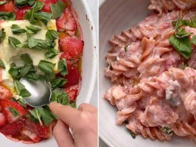 Нова пролетна верзија на популарниот рецепт за тестенини со фета