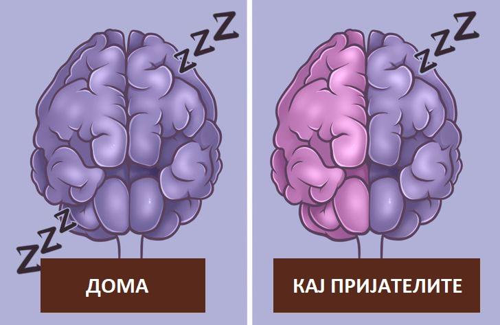 Што се случува со вашето тело кога спиете на ново место?