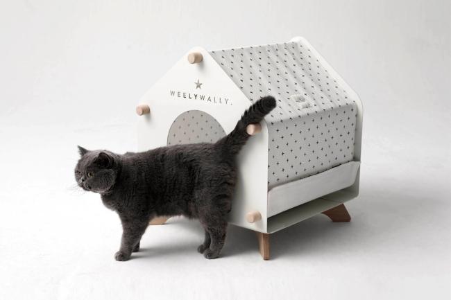 Куќи за миленичиња што се вклопуваат во модерниот ентериер