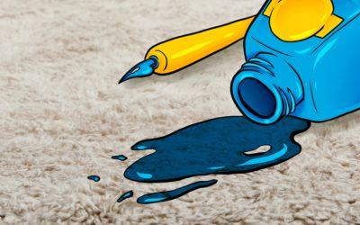 Како да отстраните мастило од тепихот со помош на средствата што ги имате дома?