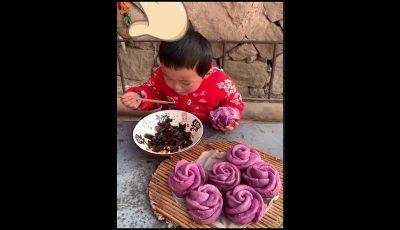 Момче од Кина има само 8 години, но готви како професионалец