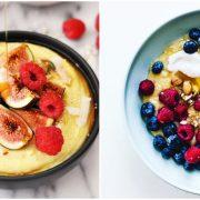 Појадок или брз ручек со палента