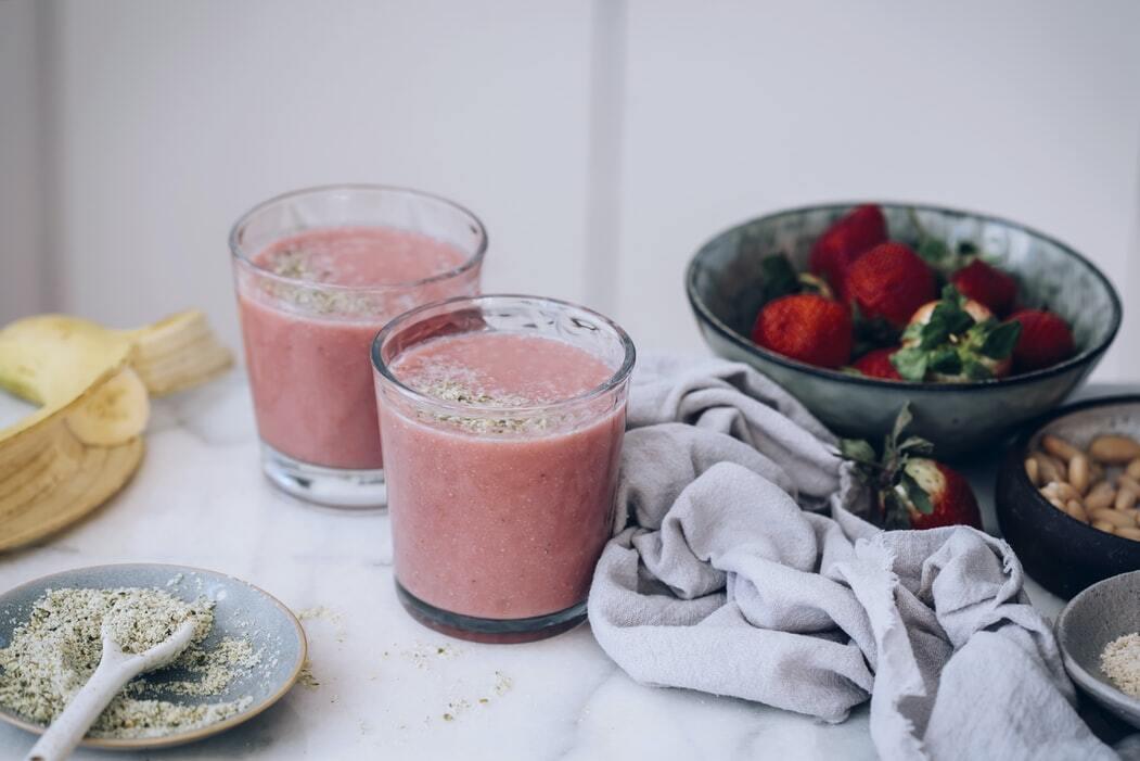 Вкусно смуди со јагоди што помага при слабеење