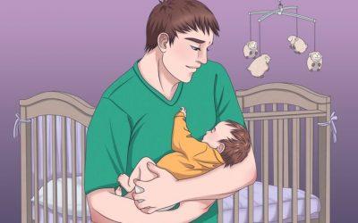 4 лесни техники како да го заспиете бебето за кратко време