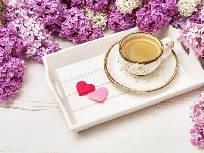 Фотографии за сите љубители на кафето и пролетта