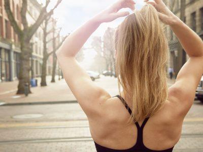 Лесен тренинг за тонирање на грбот