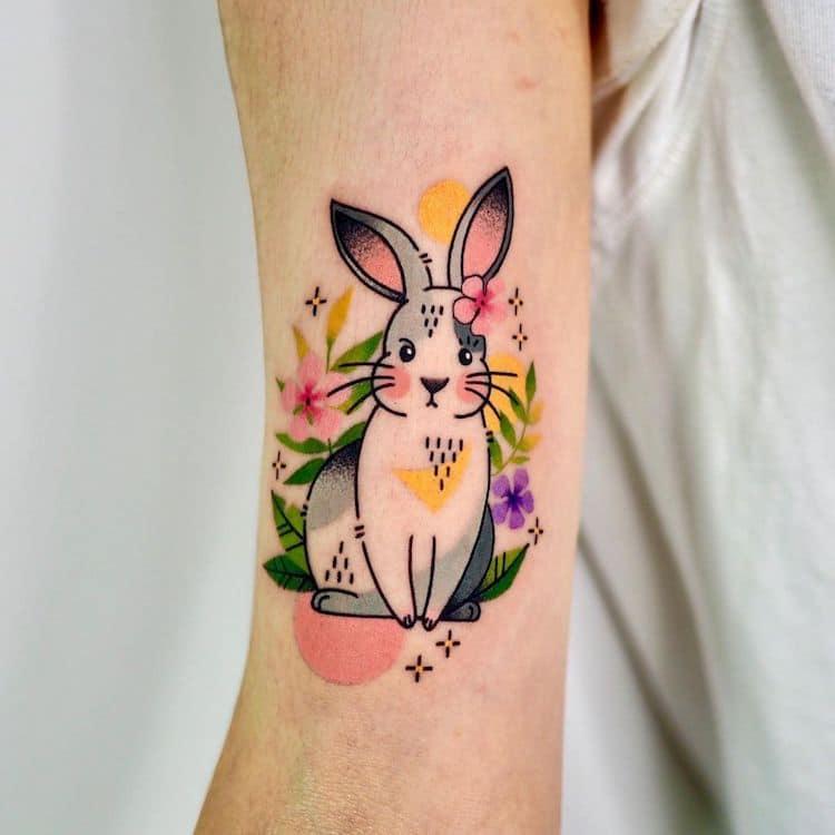 Овие шарени тетоважи од животни изгледаат како ликови од стрипови