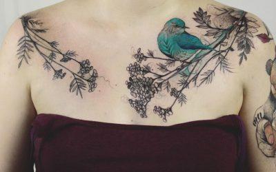 Прекрасни тетоважи кои прикажуваат надреалистички пресврт во животот на растенијата и животните