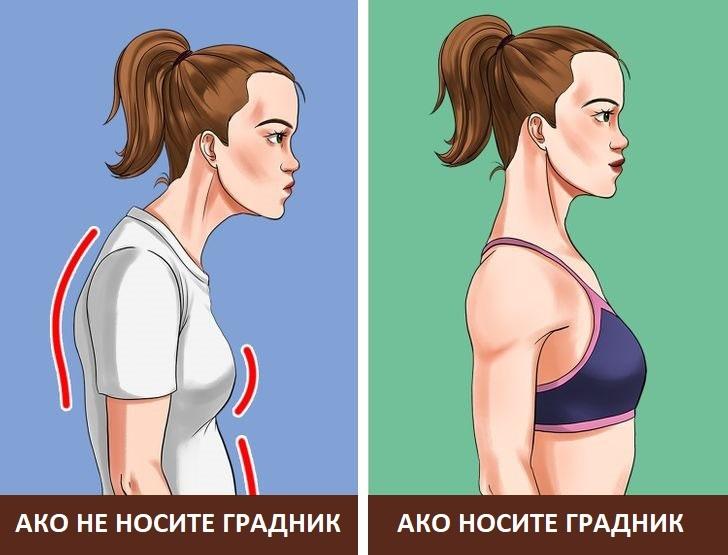 Што може да се случи со вашето тело ако носите градник секој ден?