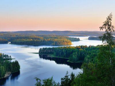 Прекрасно езеро со илјада острови кое нема лесно да го лоцирате на мапата