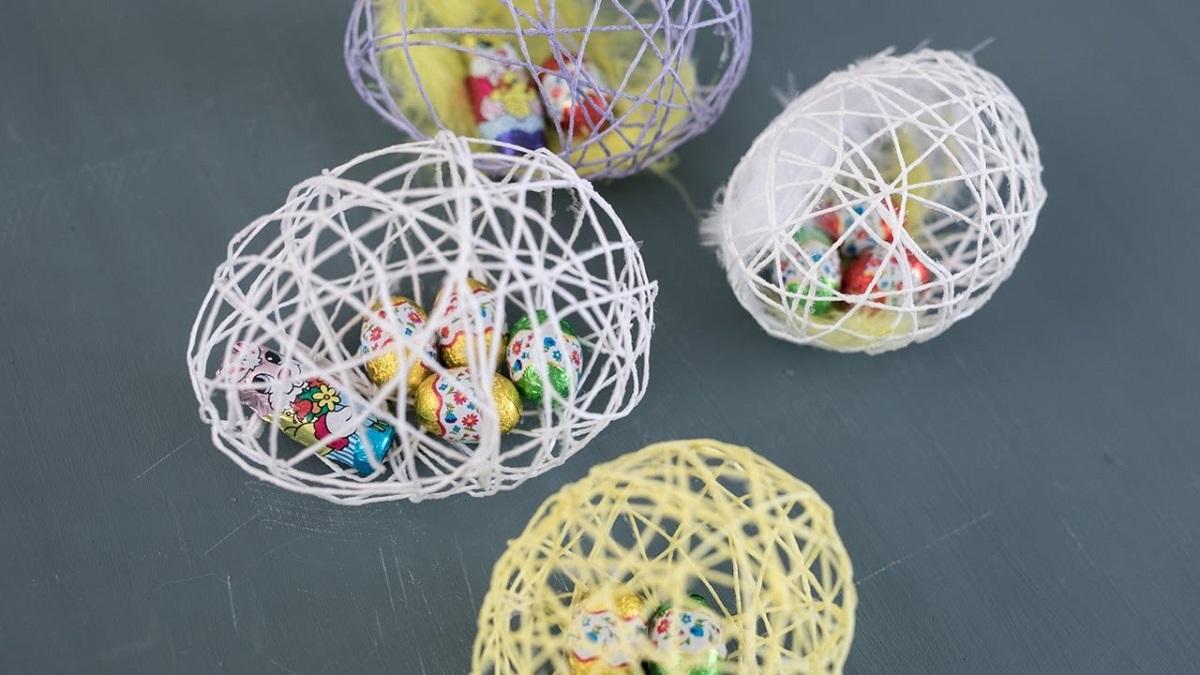 Велигденска декорација што ќе ве воодушеви: Направете јајца од конец или волна