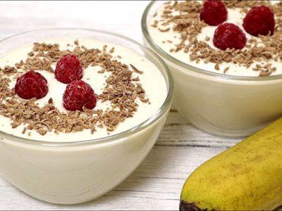 Вкусен и кремаст десерт со сирење и банани