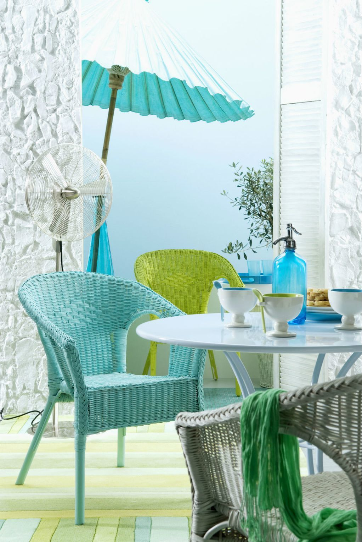 Летна боја: 10 докази дека тиркизната боја е токму она што му треба на домот