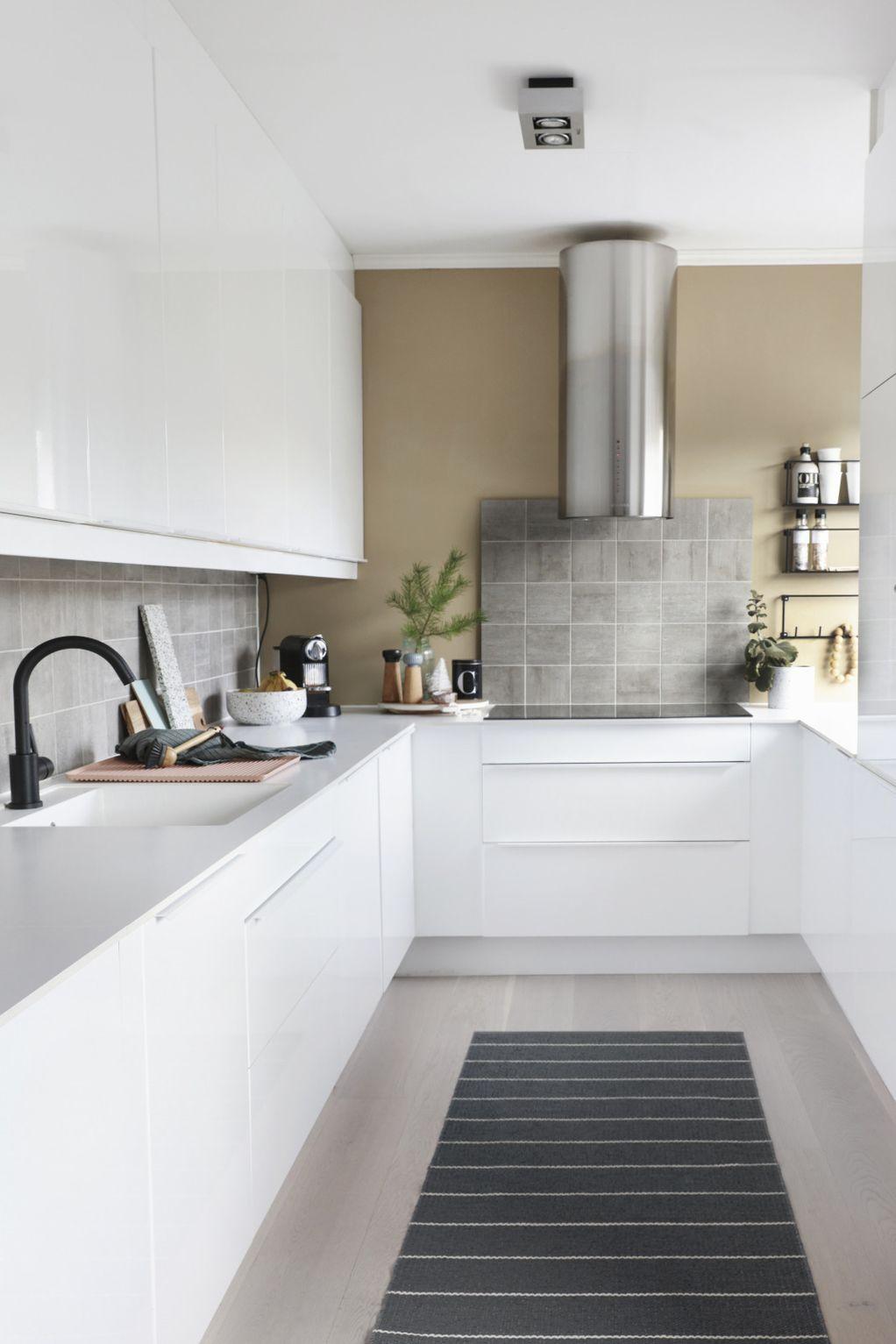 Најдобро решение за секој дом: 10 кујни во форма на буквата П