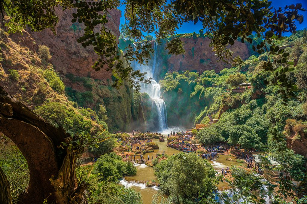 Импресивни водопади во Мароко: Рај на планините Атлас, во предворјето на Сахара
