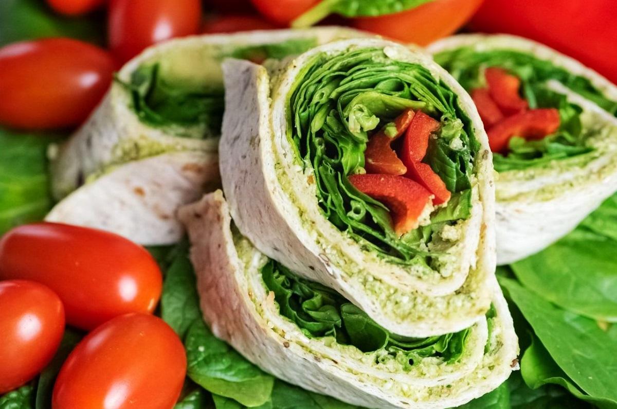 Здрав и брз ручек: Вегански тортилја сендвич