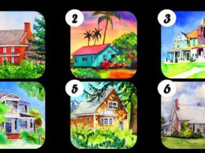 Изберете куќа и откријте интересни детали за вашиот карактер