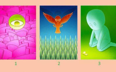 Изберете слика и прочитајте ја вашата духовна порака