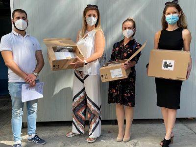 Компанијата дм дрогерие маркт донираше 50 инфузиони пумпи во вредност од 53.000 евра
