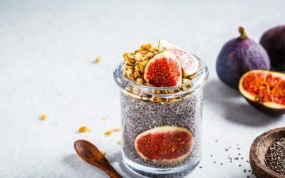 Смокви со чиа пудинг: Вкусен оброк полн со железо и антиоксиданти