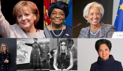 Најпознатите жени лидерки