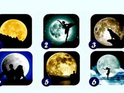 Тест: Вашата омилена слика со Месечина ќе ви открие детали за вашиот карактер, способности и ќе ви даде порака!